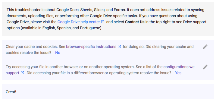 Google Docs Help?